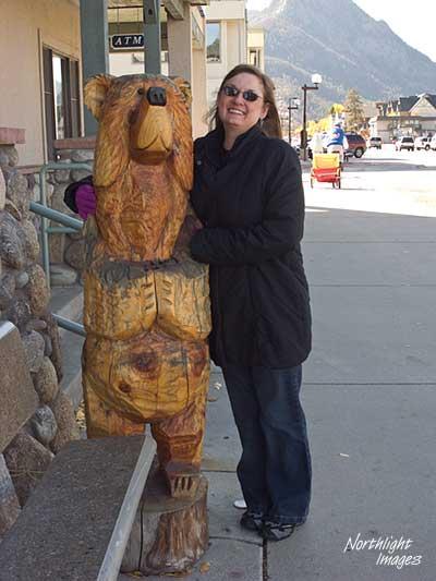 Karen and her friend