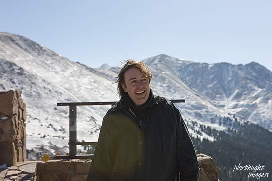 Keith Cooper at loveland pass, colorado