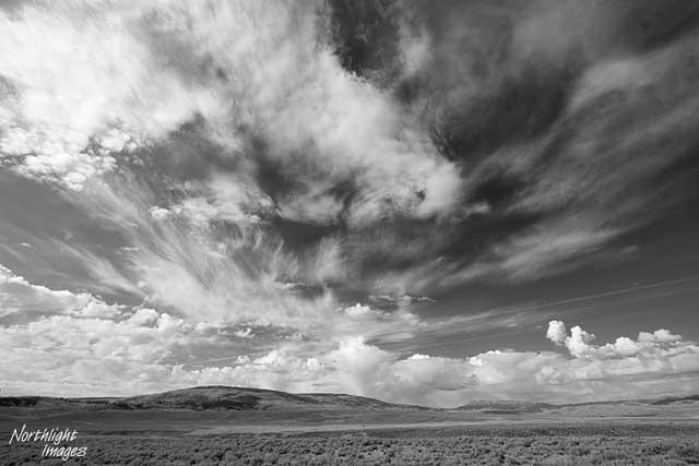 big colorado sky, south of Yampa