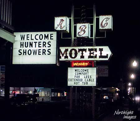 motel sign gunnison