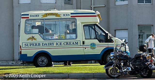 ice cream van - whitby