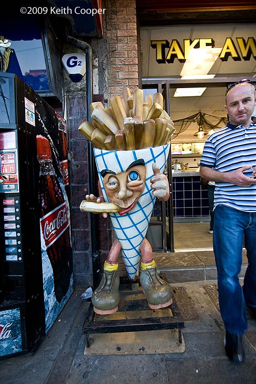 Mr Chips - whitby