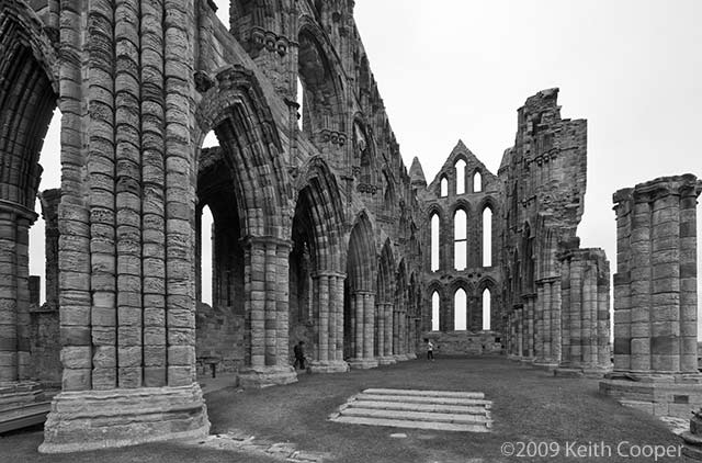 whitby abbey interior