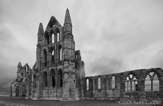 whitby abbey - east end