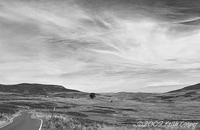 highland road near ben vrackie 3