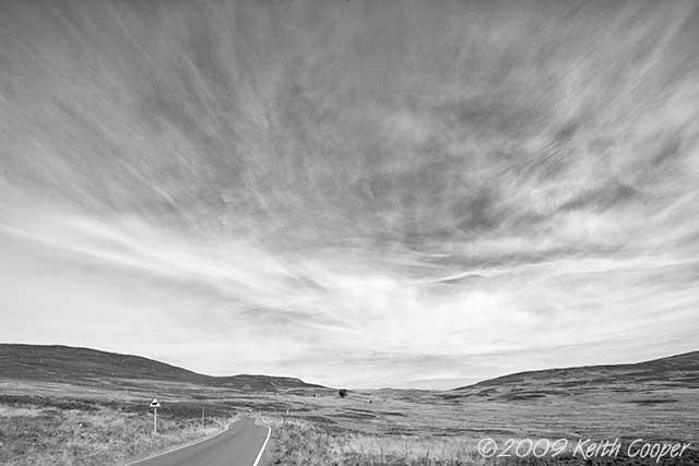 highland road near ben vrackie 2