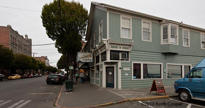 cafe - port townsend
