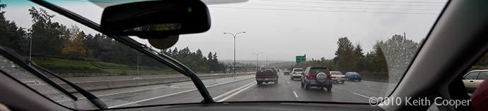 Seattle view - freeway