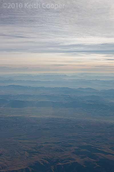 distant ridges