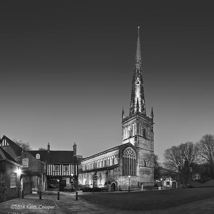 St Mary de castro, Leicester