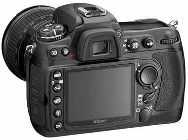Nikon D300 rear view