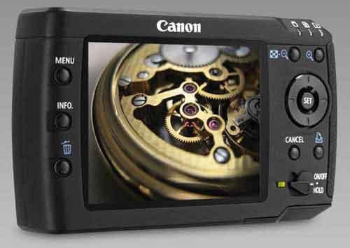 Canon m80 image storage device