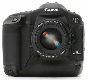 Canon eos 3D