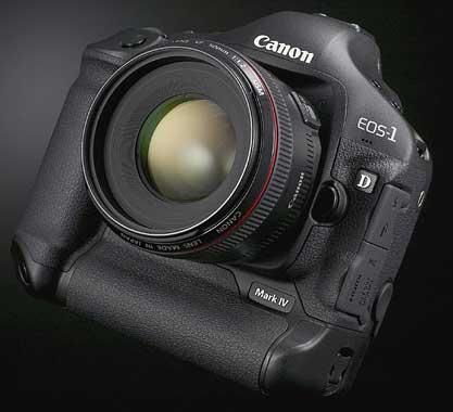 canon 1d mk4 oblique view
