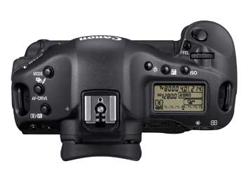 Canon 1D4 top view