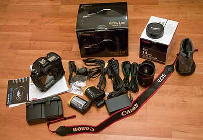 1Ds3 kit and 14mm lens