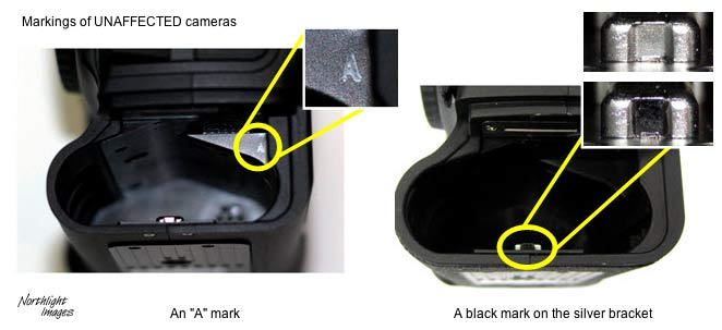 battery compartment marks