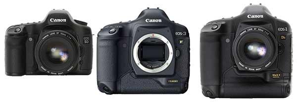Canon full frame slrs
