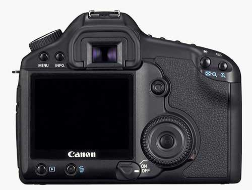 Canon 5D2 - rear