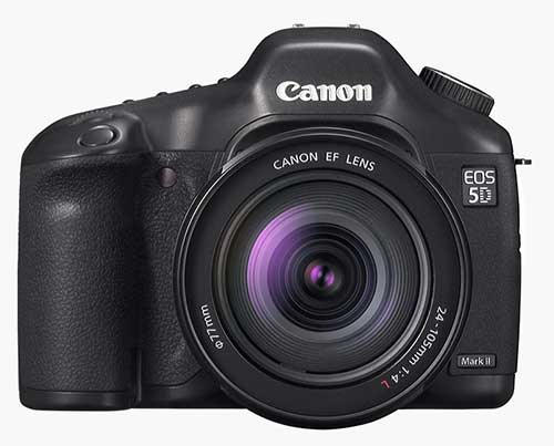 Canon 5D Mk2 - front