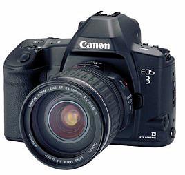 EOS 3 film camera