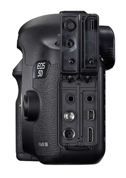 side view of ports on 5d3