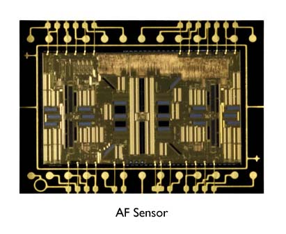 AF sensor on the T4i/650D