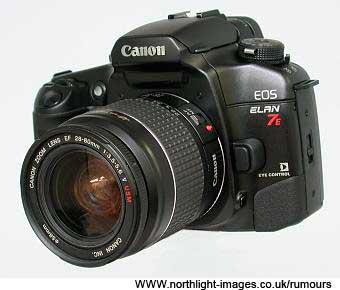 EOS 7E film camera