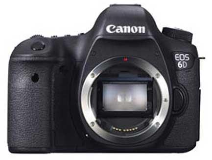 eos 6D - front