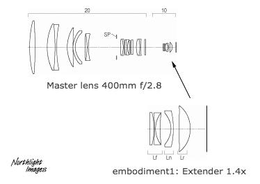 1.4 teleconverter woth AF