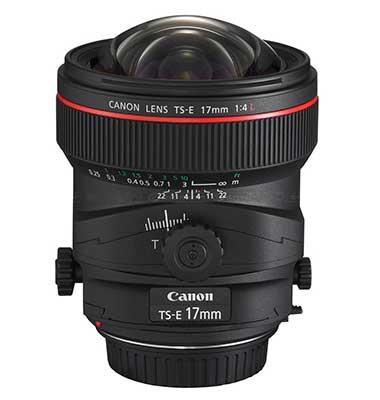 17mm t/s lens