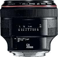canon 50mm f/1.0