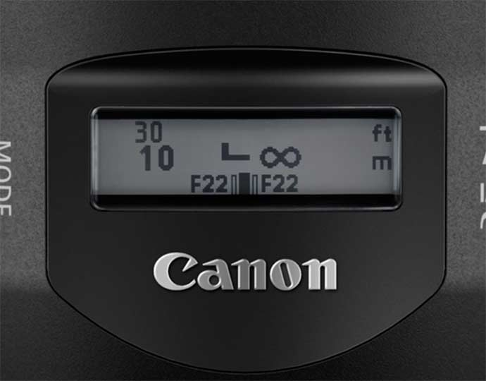 lens display LCD