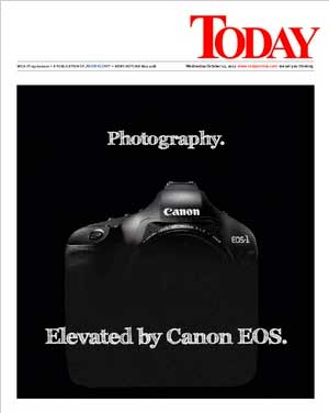 Canon adverts