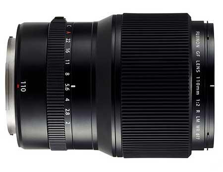 110mm f2 lens