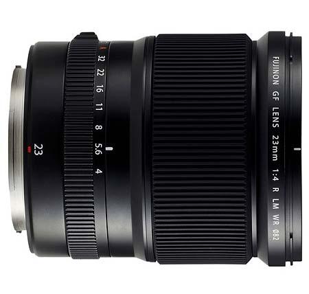 23mm f4 lens