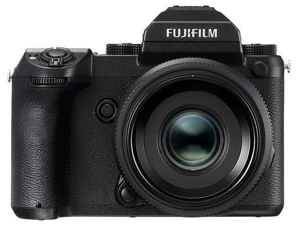 FUJIFILM GFX 50S front view