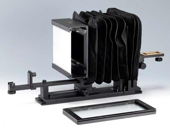 5x4 film duplicator