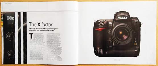 Nikon D3x article