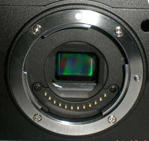 tiny sensor interchangeable lens camera from Nikon?