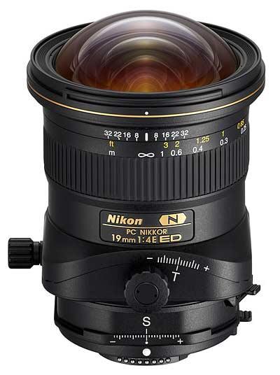 PC Nikkor 19mm F4E ED