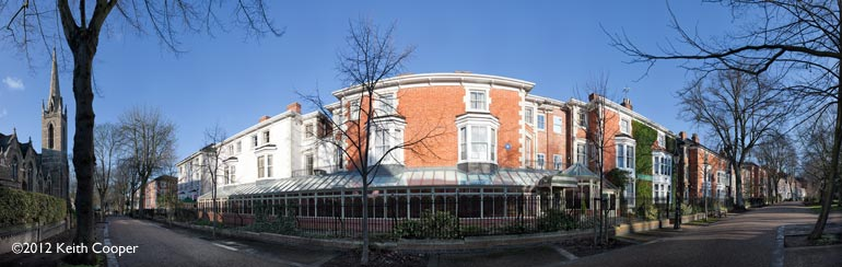 Belmont Hotel, New walk, Leicester