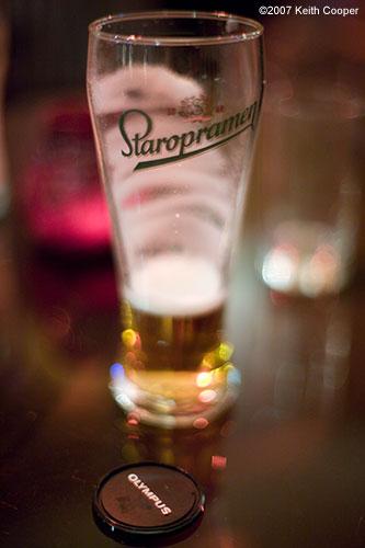 staropramen glass