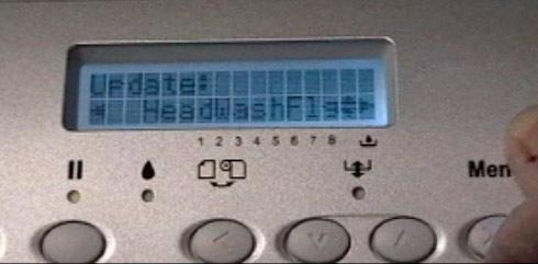 4880 printer menu