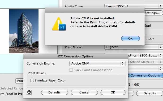 no cmm installed
