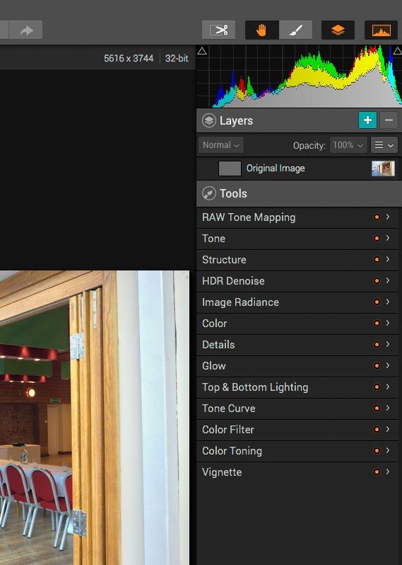 image adjustment tools