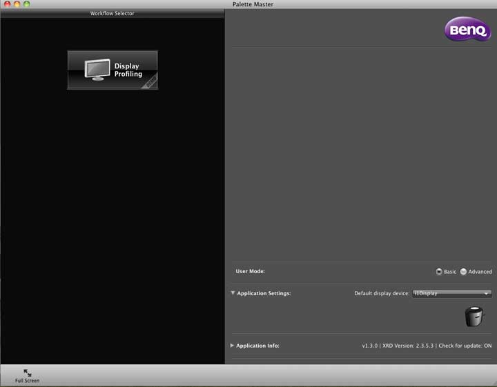 BenQ Plette Master software