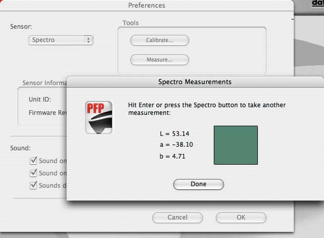 making individual measurements with a PrintFIX PRO