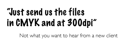 send CMYK files