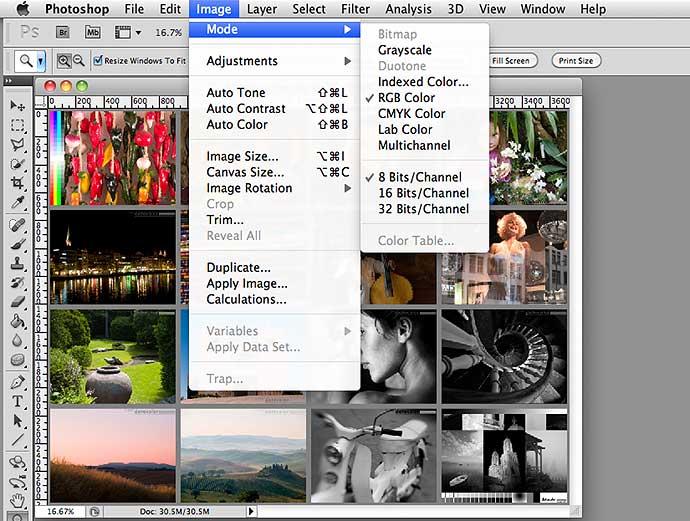 photoshop convert to cmyk